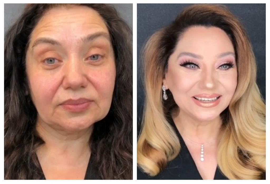 Женщины, которым за 40, пришли к визажисту: они и не предполагали, что умелый макияж легко стирает 20 лет (видео)