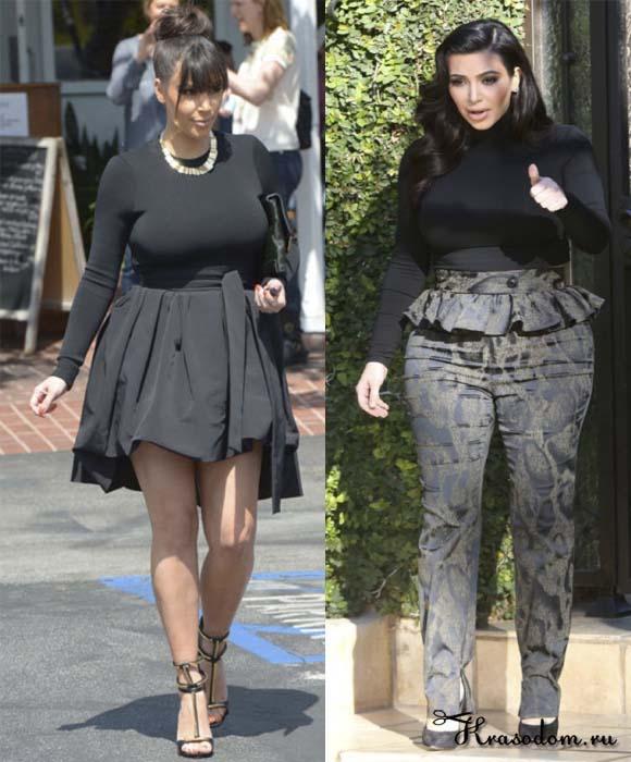 Как одеваться женщинам с полными бедрами