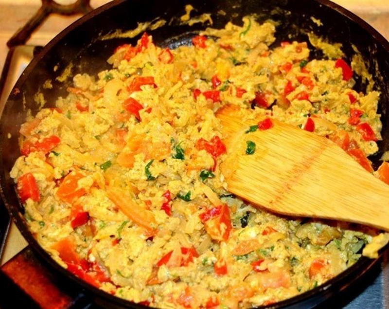 Рецепт приготовления грузинской яичницы