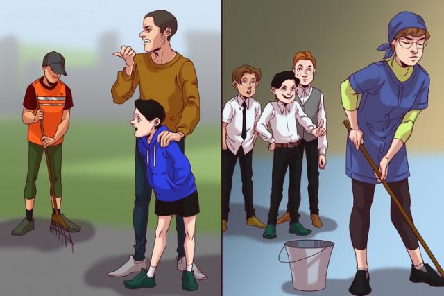 Неудобные вопросы от родителей