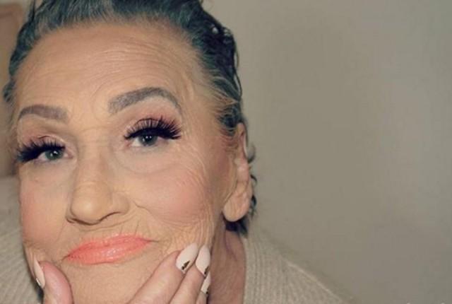 80-летняя бабуля стала моделью для своей внучки-визажиста
