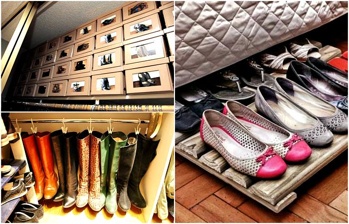 12 идей для тех, кто не знает, куда спрятать сезонную обувь