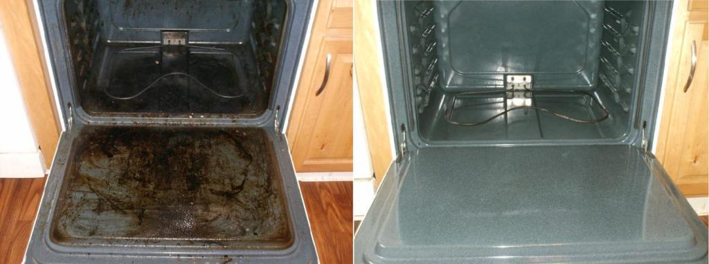 2 обыденных продукта, что есть на каждой кухне, и ваша духовка сияет чистотой