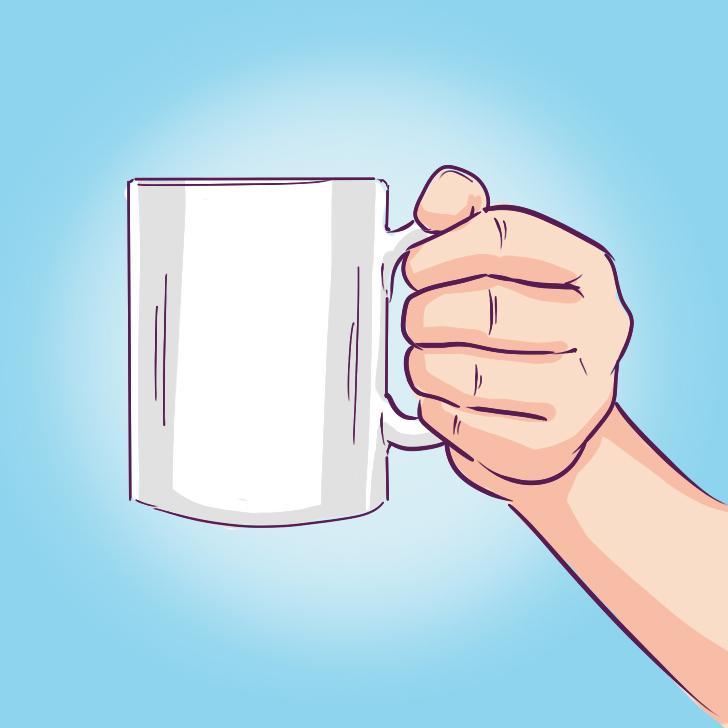 Личностный тест: то, как вы держите чашку с кофе, многое расскажет о вашем характере