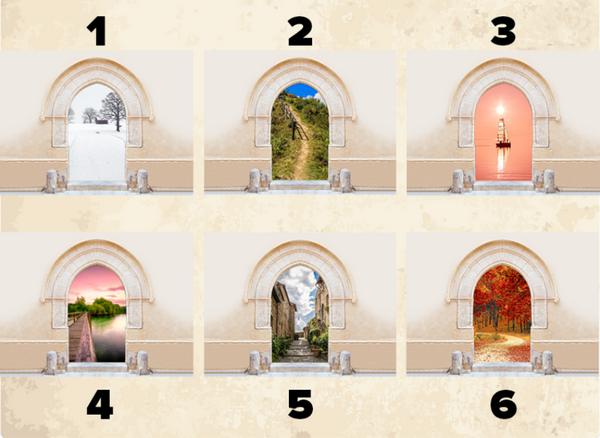 Тест на характеристики личности: какую дверь вы откроете