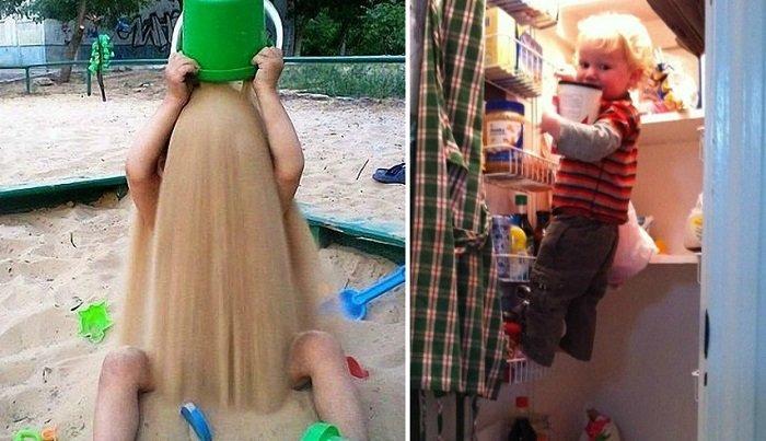 16 правдивых фотографий о том, что такое жизнь с детишками