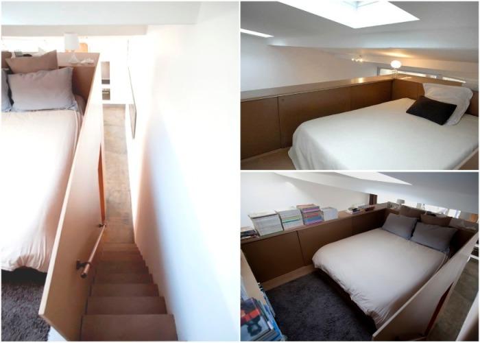 Француз превратил заброшенный гараж в шикарные апартаменты