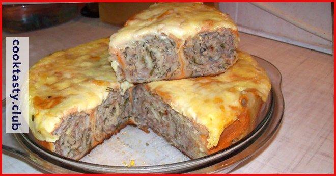 Быстрая запеканка из лаваша с мясом: потрясающий вкус