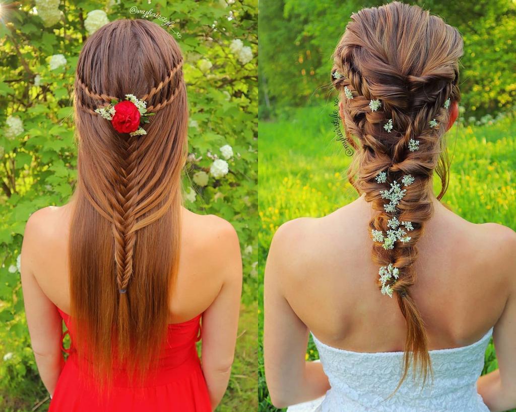 Девушка из Финляндии удивила своим мастерством плетения волос