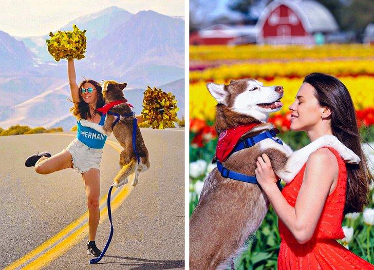 Русская девушка переехала жить в США со своей собакой и рассказала о вещах, которые до сих пор ее поражают