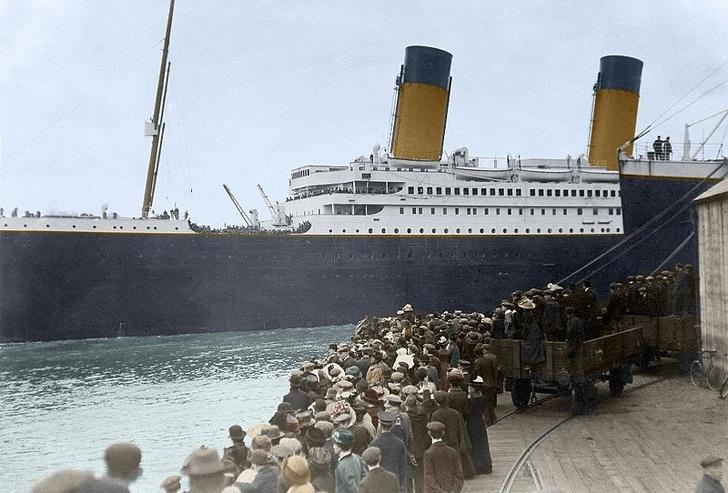 Выживший на -Титанике- заявляет, что не айсберг стал причиной кораблекрушения