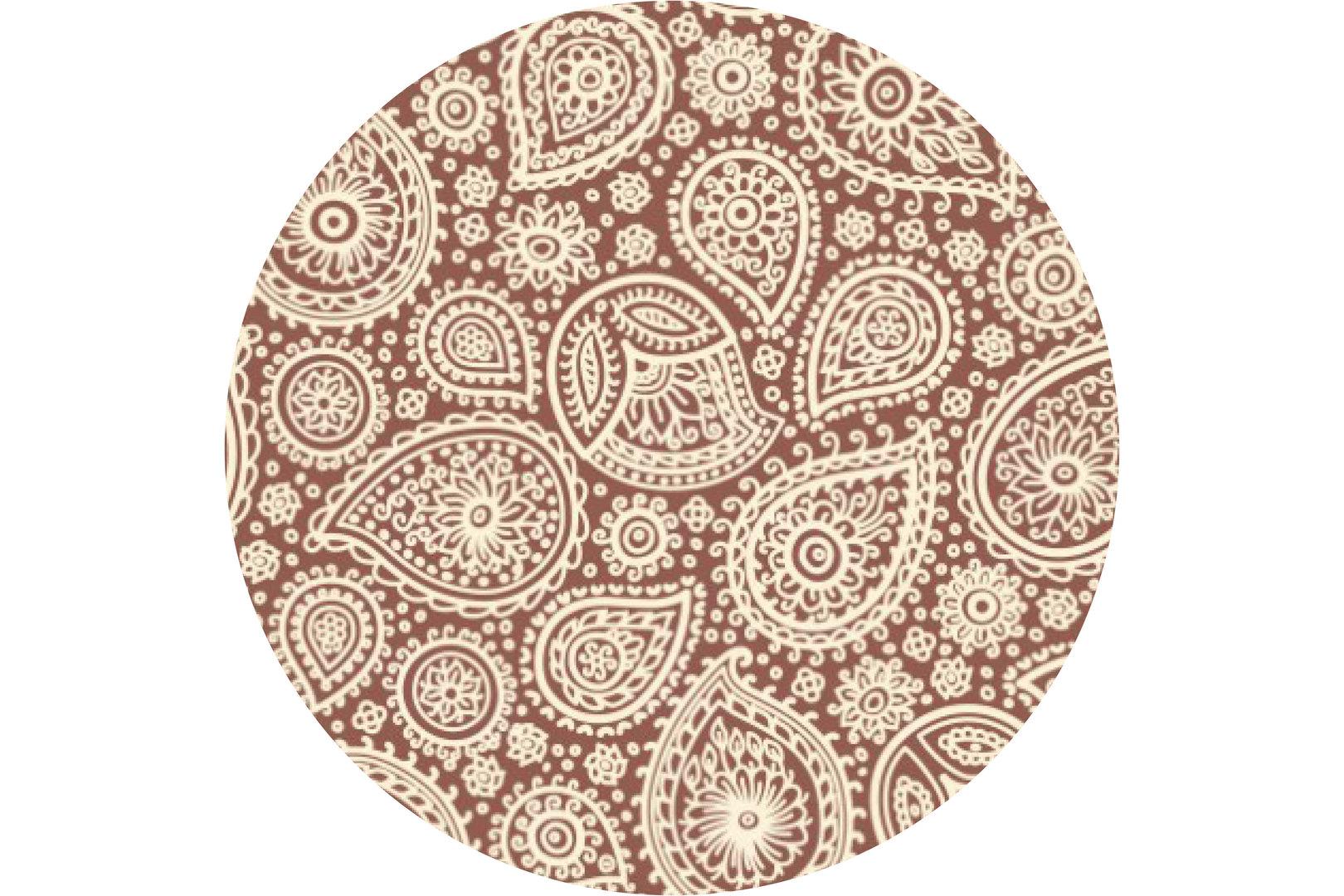 Клетка, горошек, цветы: как правильно сочетать узоры в интерьере