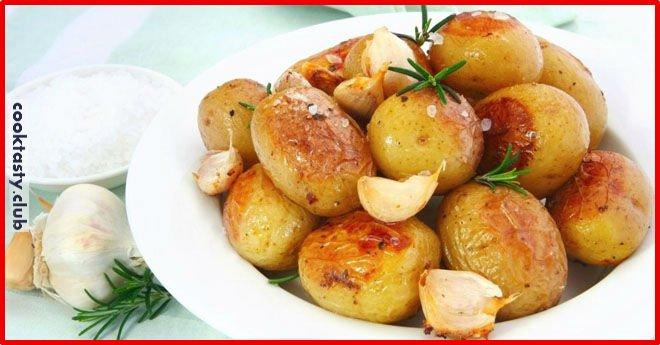 Идеальный печеный картофель (три способа приготовления)