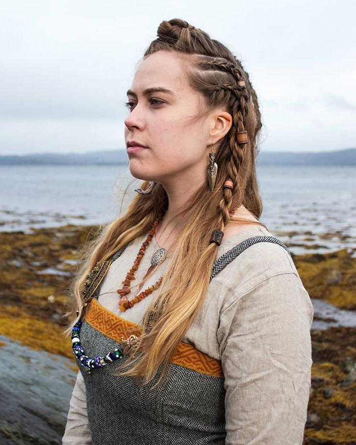 И викинги любят красоту: необычные прически викингов, которые популярны в современности