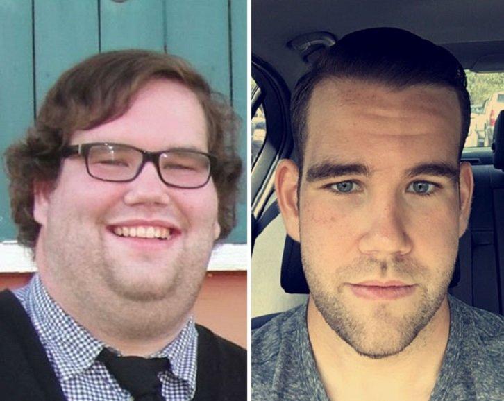 Когда я хочу нарушить диету и съесть запрещенную еду, то смотрю на мотивирующие фото, сделанные людьми до и после похудения