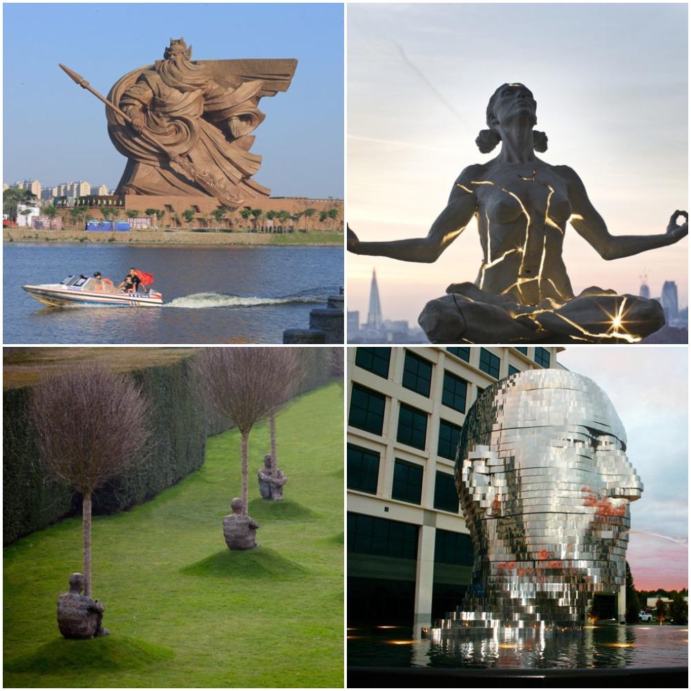 Несколько фактов об известных скульпторах: от Колосса до Феи, танцующей с одуванчиком
