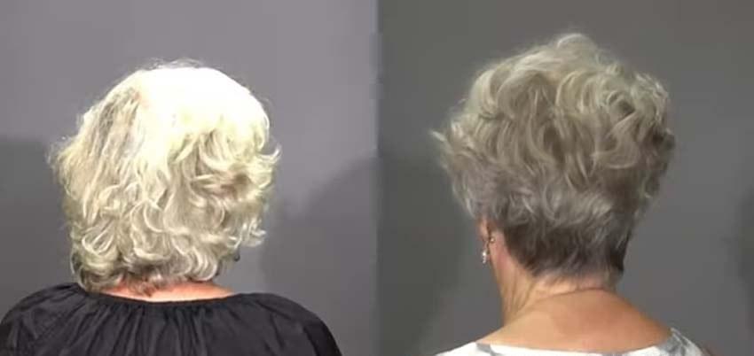 Пожилая мама пошла к стилисту перед свадьбой сына и не пожалела об этом решении