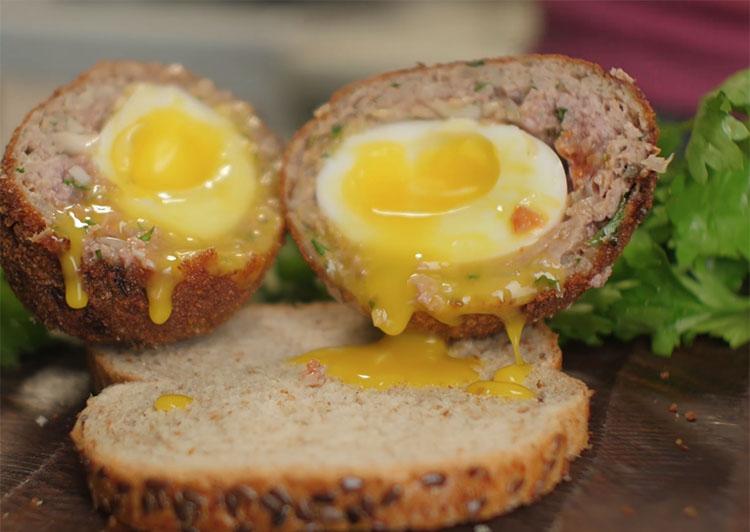 Яйца, фарш, мука: сытость на целый день