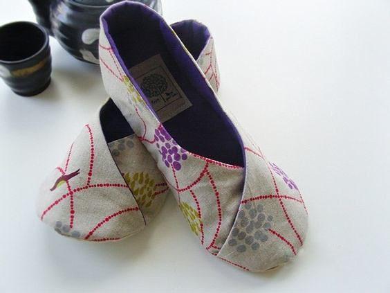 Домашние тапочки-кимоно или тапочки-кулек своими руками