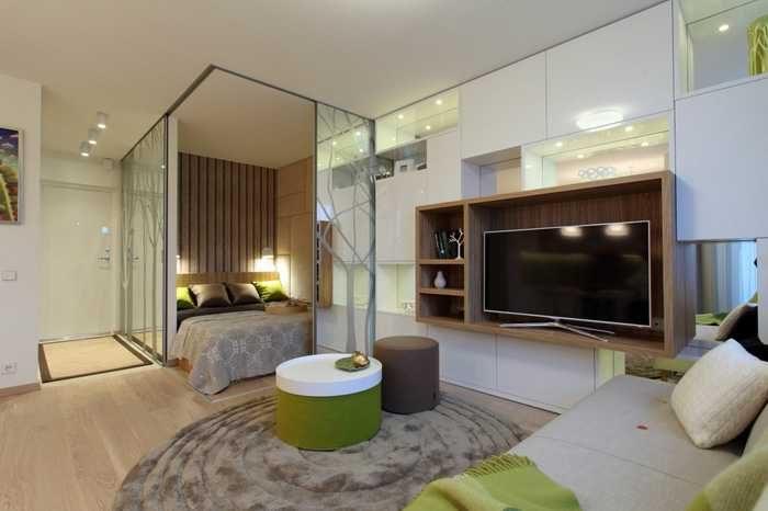 Как превратить крошечную однокомнатную квартиру в двушку