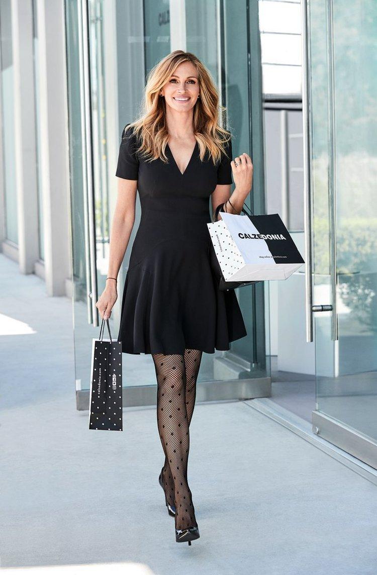 Секреты -Красотки-: Джулия Робертс — веселая, стильная, богатая и босая!