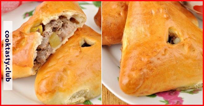 Эчпочмак — треугольные пироги с картошкой и мясом