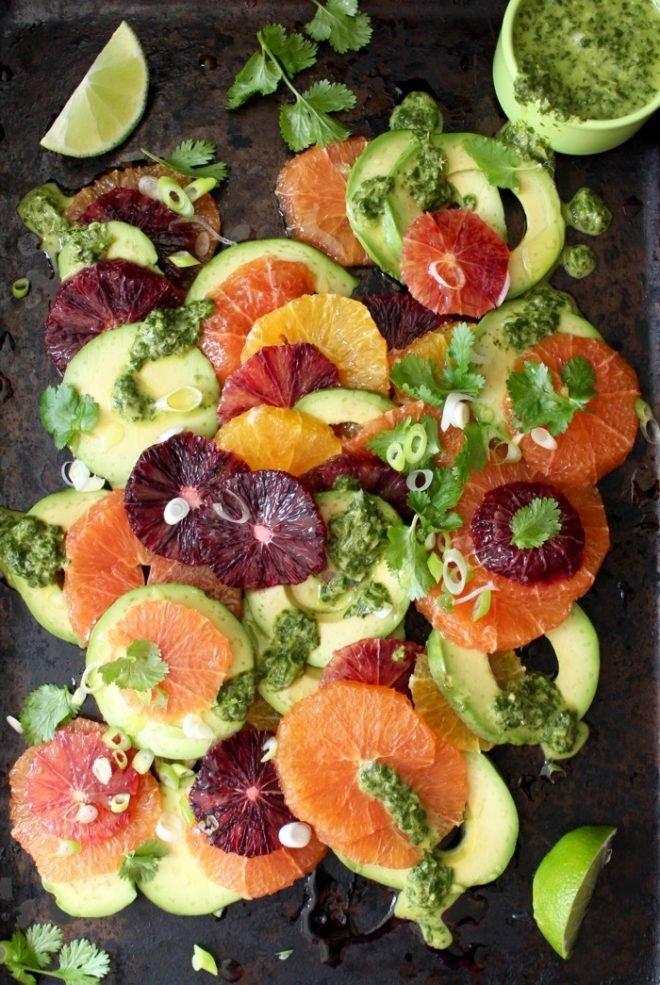 ТОП-21 рецепт салатов из авокадо