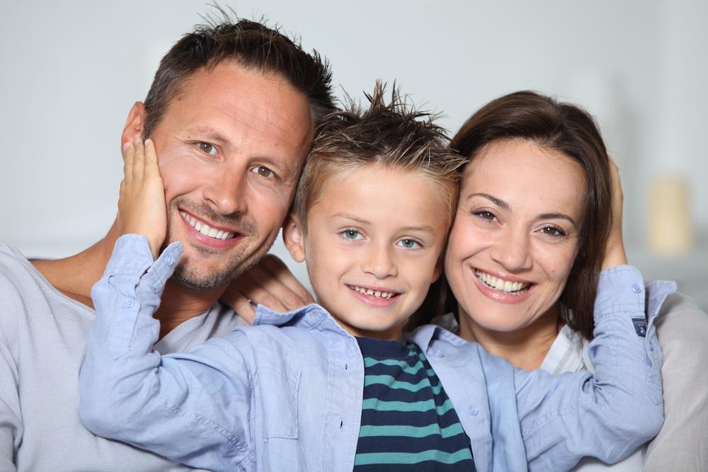 Фото мама и папа и ребенок