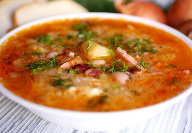 Суп посольский: сытный обед на каждый день