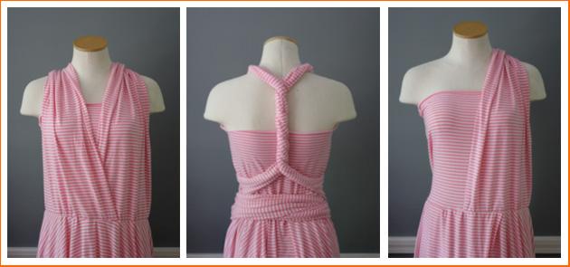 2 самых простых мастер-класса по шитью платья трансформер своими руками