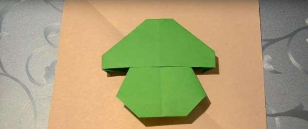 Как сделать оригами гриба — схемы, пошаговые инструкции и видео