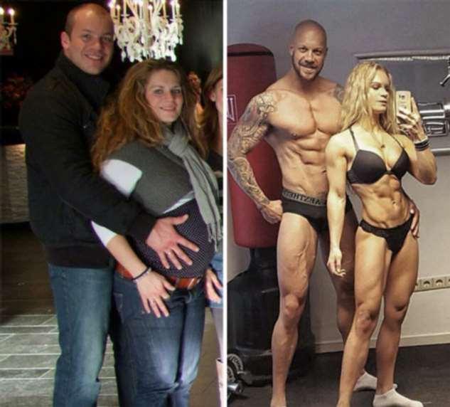 Пары, которые вместе похудели