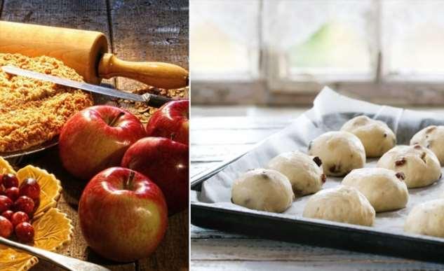 Инструкция по приготовлению постных яблочных булочек