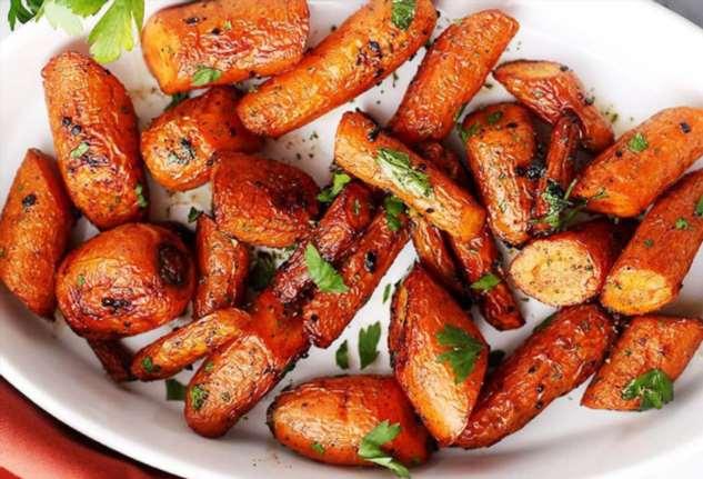 Запеченная морковь: потрясающий гарнир