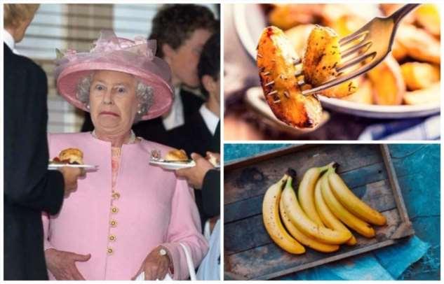 10 обычных продуктов, которые никогда не появятся на столе Елизаветы II