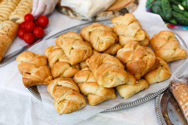 Рецепт закусочных слоек «Наполеон»
