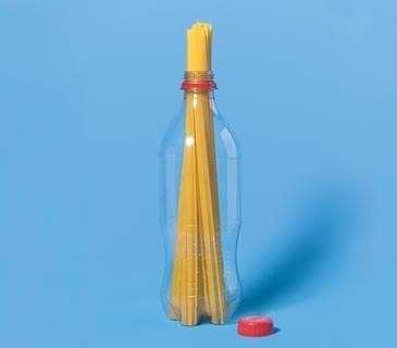 Четко отмеряем порцию спагетти