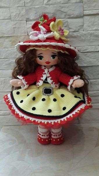 Восхитительные вязаные куколки, вдохновляемся!