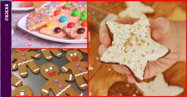 Готовим с детьми печенье к зимним праздникам: 3 рецепта + глазурь!