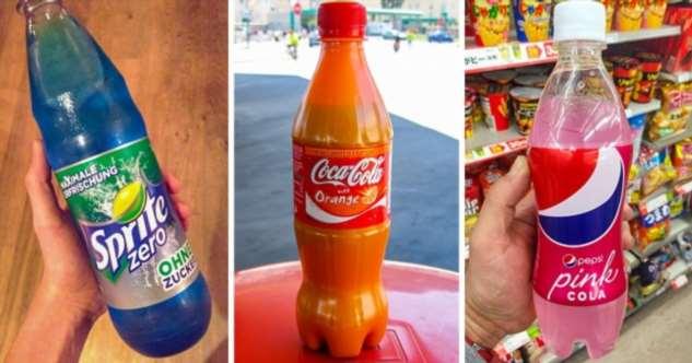 10 знакомых всем продуктов, которые в других странах имеют совершенно безумный вкус