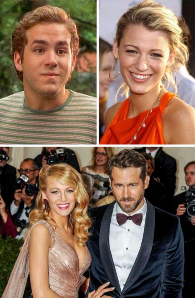 Как выглядели в начале карьеры звездные пары