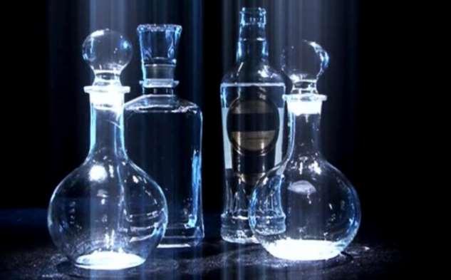 Бутылка для водки