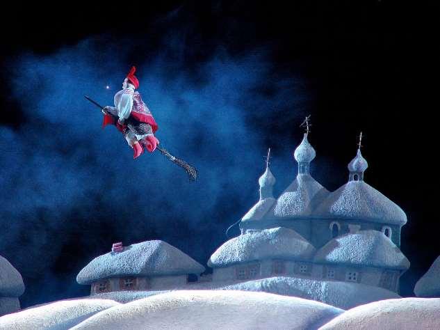 «Ночь перед Рождеством» в Театре кукол имени Сергея Образцова